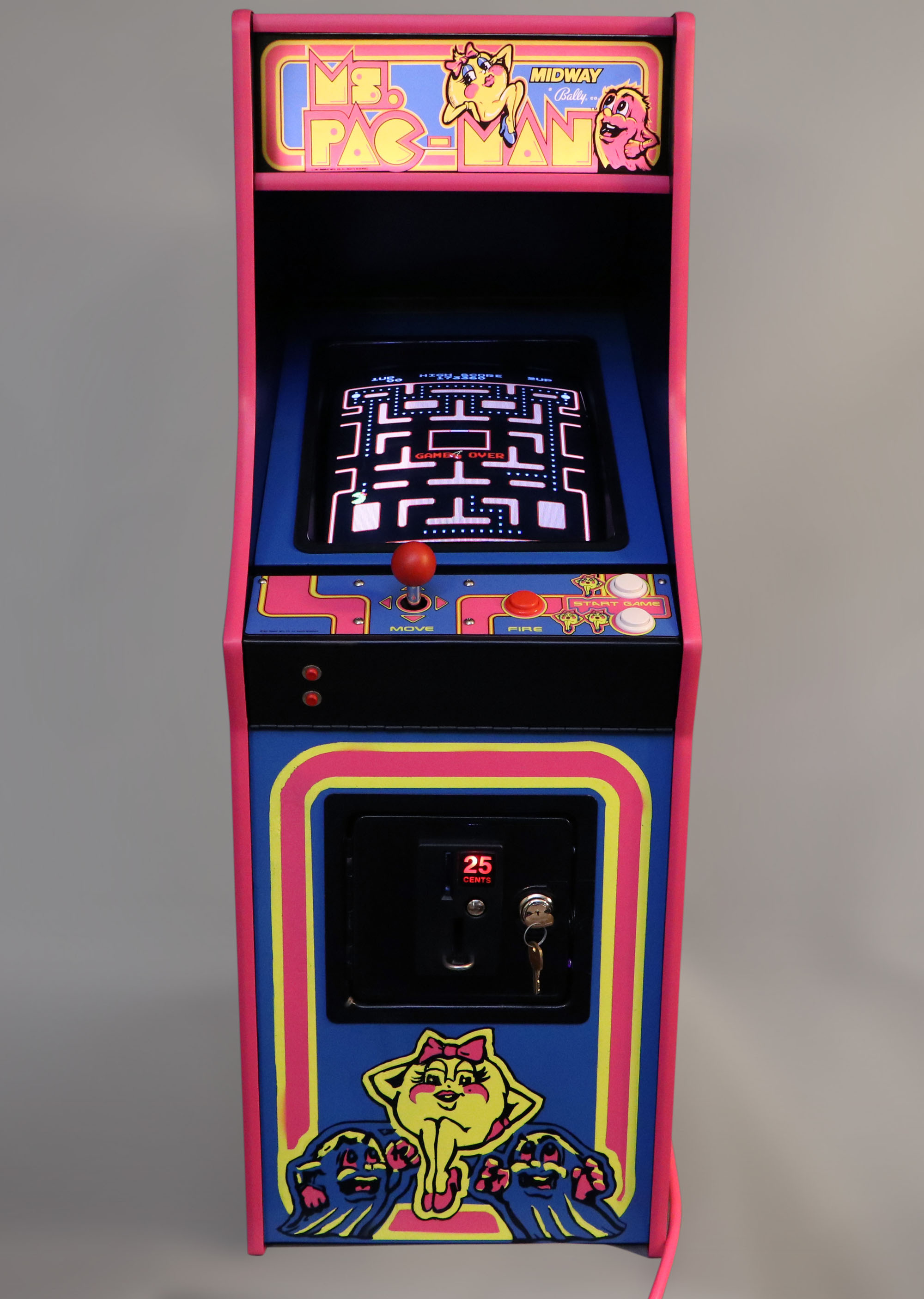 Ms Pac Man Galaga Small Change Arcade