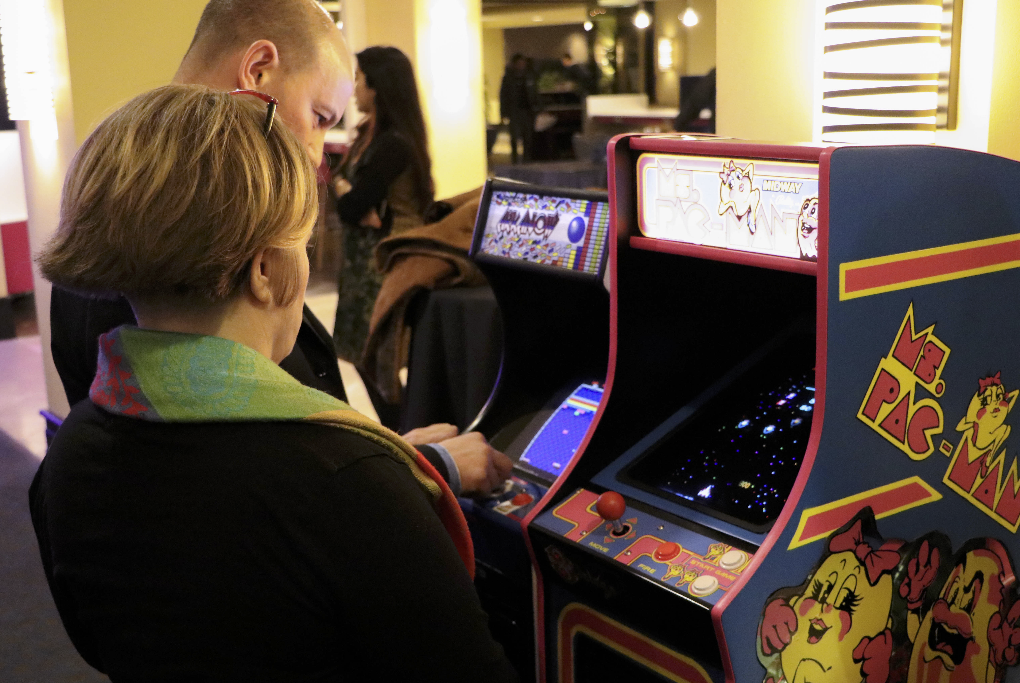 Arkanoid and Ms. Pac-man